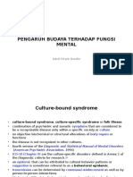 Kuliah psikiatri budaya