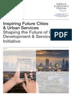 Inspiring Future Cities & Urban Services