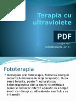 Terapia Cu Ultraviolete