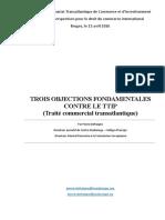 Trois Objections Fondamentales Au TTIP - Bruges - Pierre Defraigne