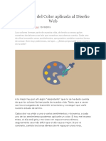 Psicología Del Color Aplicada Al Diseño Web