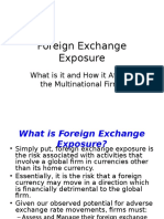 Exposure for FX