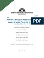 Análisis del desayuno y clasificación según el IMC