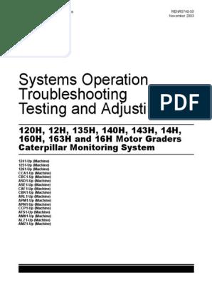CAT 16H service manual | Transmission (Mechanics