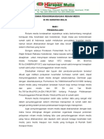 Pedoman Pengorganisasian Rekam Medis
