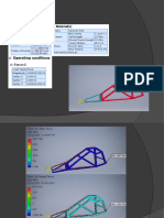 Stress Analysis for Two Seated Buggy Chassis Design
