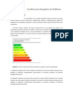 Documento Certificacion Energetica Edificios