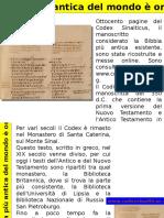 Bibbia Più Antica Del Mondo on Line
