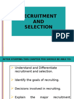 Recruitment & Selection MMS