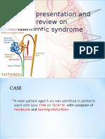 nephroticsyndromeandacasereport-140727015201-phpapp02