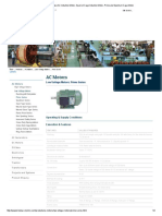 Find Low Voltage 3 Phase AC Induction Motor and its Features