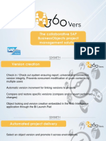 360Vers the collaborative SAP BusinessObjects project management solution