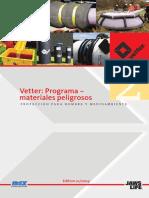 Catalogo Vetter Programa Materiales Peligrosos 2009