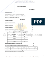 2015 Economics Question Paper