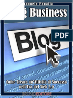 Blog Business - Come Creare Un'Attività Di Successo Nell'Era Del Web 2.0