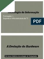 evolução de hardware para o ti