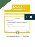 Reglamento Del Personal Docente y de Investigacion 19-10-2011