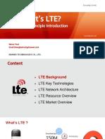 LTE Basic Principle Introduction v2