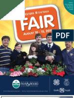 2010 Western Montana Fair Premium Book