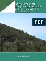 Ley 03-07 de Prevenc y Defensa Contra Los Incend Castellano
