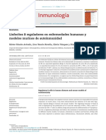 Linfocitos B Reguladores en Enfermedades Humanas y