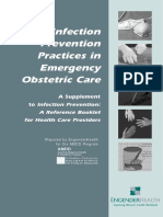 Infection Prevention Practices in Emergency Obstetric Care