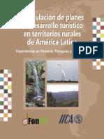 Formulacion de Planes de Desarrollo Turistico en Territorios Rurales