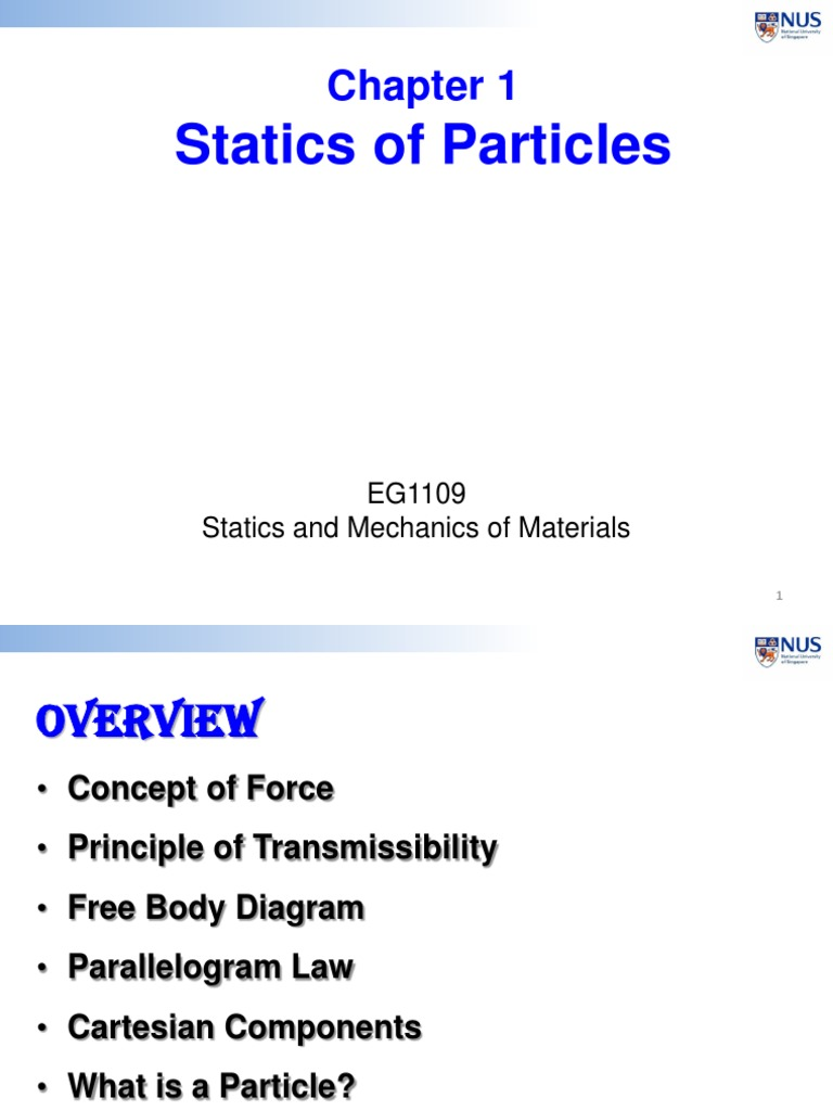 1 Equilibrium Of Particles F2f Notes Force Euclidean Vector Statics Free Body Diagram