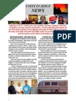 Unity Newsletter 1