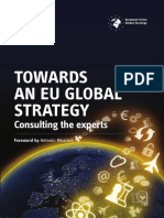 Towards an EU global strategy – Consulting the experts