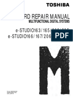 Toshiba E-Studio 163 165 203 205 166 167 206 207 237 PC Board Repair Manual 2006