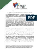 """LA  POLICÍA  LOCAL Y LA """"IN""""SEGURIDAD CIUDADANA EN SANLÚCAR LA MAYOR"""