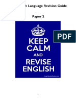 IGCSE English Revision Guide Paper 2