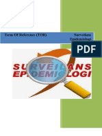 Term of Reference Surveilans
