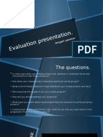 Evaluation Presentation Final