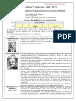 Republica Presidencial Gobiernos