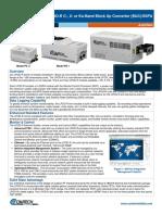 Comtech/EFData LPOD-R BUC/SSPA Datasheet