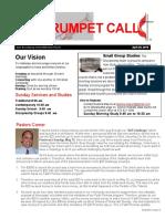 Trumpet Call 2016-4-24