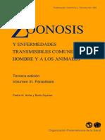 Zoonoses - Volume 3 - Acha