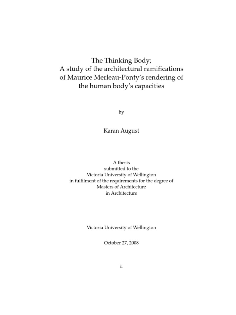 Master philosophy thesis