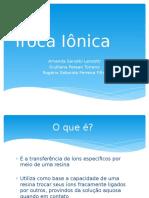 TrocaIônica