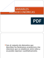 Clase 3 Variables Macroeconomicas