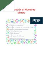 Introducción al muestreo minero