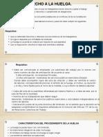Derechos Huelga, Negociacion Colectiva y participación en las Utilidades y