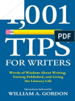 1,001 Tips for Writers - William A. Gordon.pdf