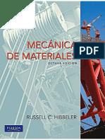 Hibbeler - Mecánica de Materiales 8a Edición