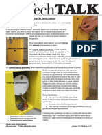 TT Safety Cabinet Grounding