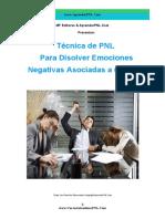 Técnica PNL Para Disolver Emociones Negativas Asociadas Al Error- CursoAutoestimaPNL