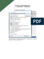 COnfigurar OPC Windows 7