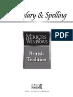 Vocabulary & Spelling - British Tradition
